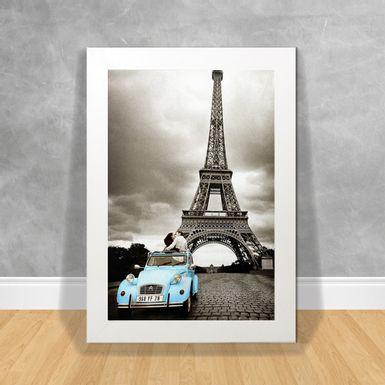 Quadro-Decorativo-Paris-Car-Blue