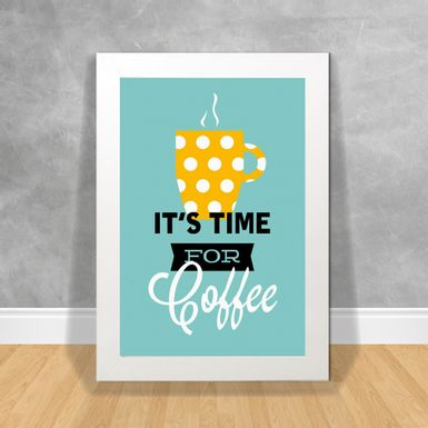 Quadro-Decorativo-Its'-Time-for-Coffee