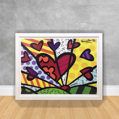 Quadro-Decorativo-Romero-Britto-New-Day