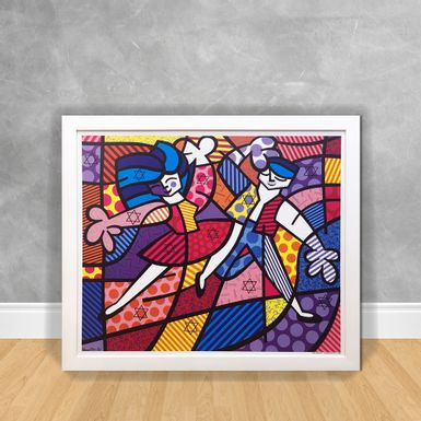 Quadro-Decorativo-Romero-Britto-Fun-Passion