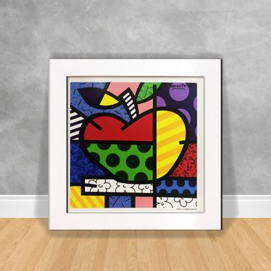 Romero-Britto--Apple
