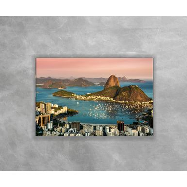 Gravura-Decorativa-Rio-de-Janeiro---Praia-de-Botafogo