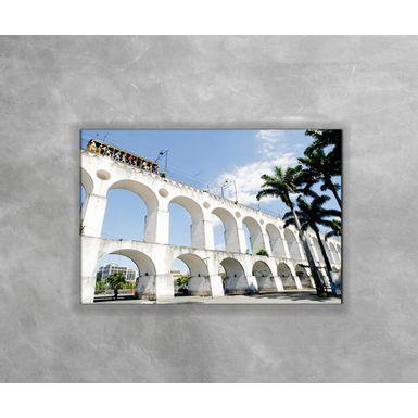 Gravura-Decorativa-Rio-de-Janeiro---Arcos-da-Lapa