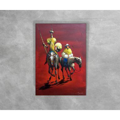 Tela-a-Oleo---Dom-Quixote