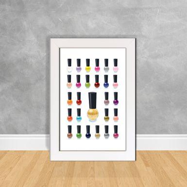 Quadro-Decorativo-Esmaltes-Coloridos