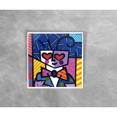 Gravura-Decorativa-Romero-Britto-Kids-Heart