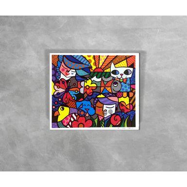 Gravura-Decorativa-Romero-Britto-Britto-Garden