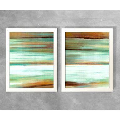 Conjunto-de-Quadros-Abstratos-Listras-Tons-de-Verde-Agua