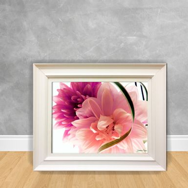 Quadro-Decorativo-Canvas-Flor-Rosa-e-Lilas