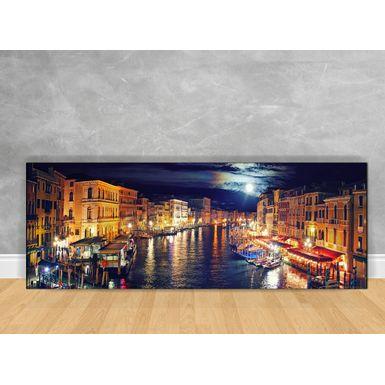 Quadro-Decorativo-Barcos-de-Veneza-com-Chassi