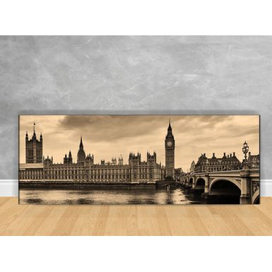 Quadro-Decorativo-Relogio-de-Londres-com-Chassi