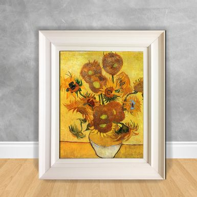 Quadro-Decorativo-Van-Gogh---Still-Life-Vase-with-Fifteen