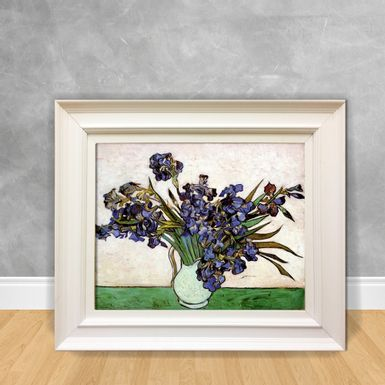 Quadro-Decorativo-Van-Gogh---Vase-With-Irises