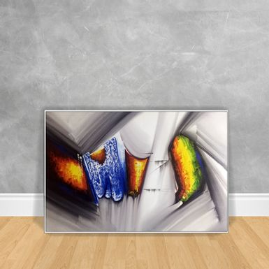 Tela-a-Oleo---Abstrata-Colors-2