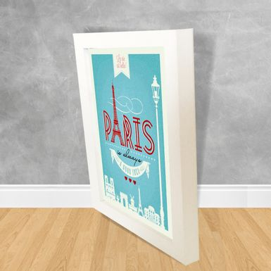 Quadro-Decorativo-Paris-is-Always