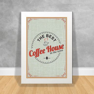 Quadro Decorativo-The-Best-Coffee-House