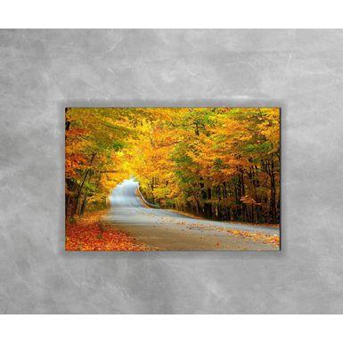Gravura-Decorativa-Floresta-com-Folhas-Caidas