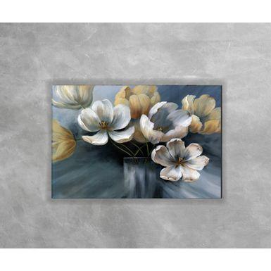 Gravura-Decorativa-Flor-Azul