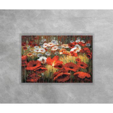Gravura-Decorativa-Jardim-Vermelho-e-Branco
