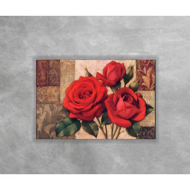 Gravura-Decorativa-Trio-de-Rosas-Vermelhas