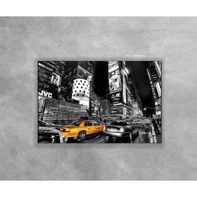 Gravura-Decorativa-New-York-Preto-e-Branco