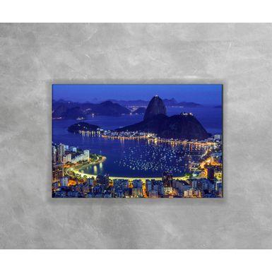 Gravura-Decorativa-Rio-de-Janeiro---Cidade-a-Noite