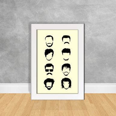 Quadro-Decorativo-Tipos-de-Cabelos-Masculinos