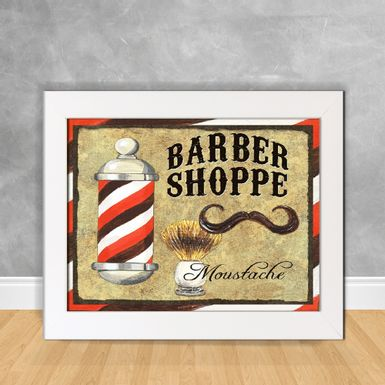 Quadro-Decorativo-Barber-Shoppe-Moustache