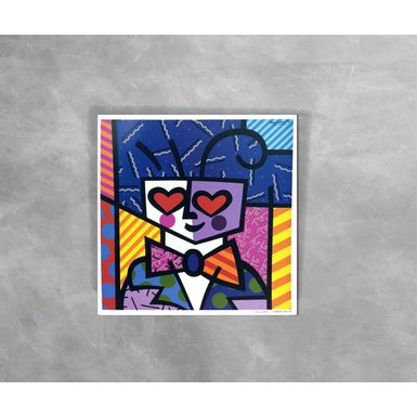 Gravura-Decorativa-Romero-Britto-Kids-Heart