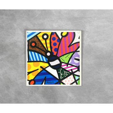 Gravura-Decorativa-Romero-Britto-Butterfly