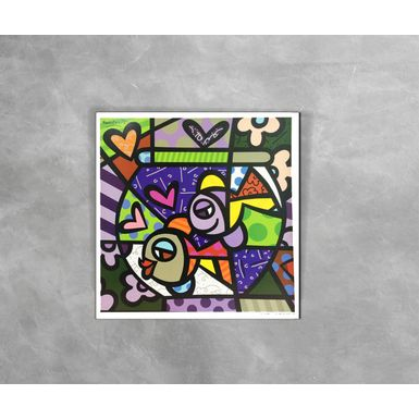 Gravura-Decorativa-Romero-Britto-At-Home