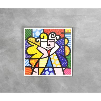 Gravura-Decorativa-Romero-Britto-Angel