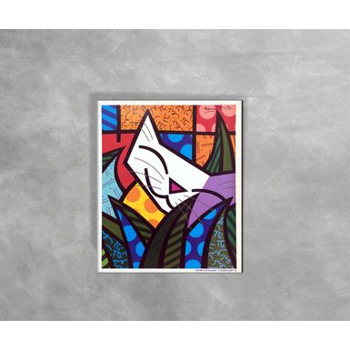 Gravura-Decorativa-Romero-Britto-Behind-The-Busches