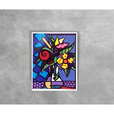 Gravura-Decorativa-Romero-Britto-Its-For-You