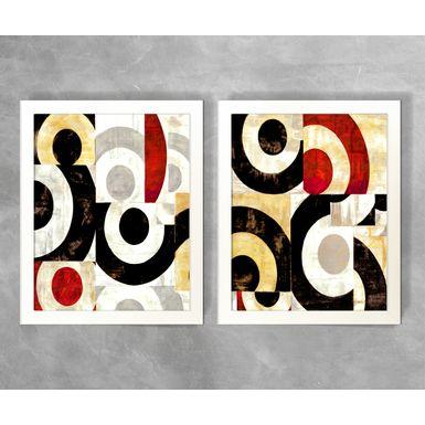 Conjunto-de-Quadros-Abstratos-Semicirculos