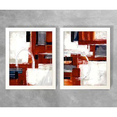 Conjunto-de-Quadros-Abstratos-Tons-de-Vermelho-e-Branco