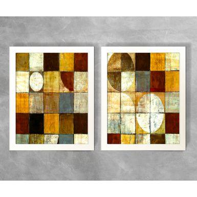 Conjunto-de-Quadros-Abstratos-Circulos-e-Quadrados