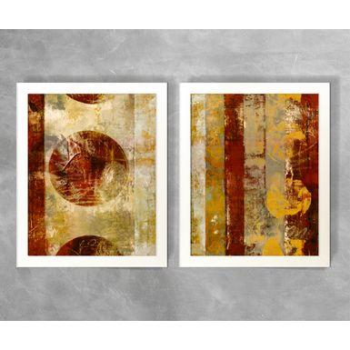 Conjunto-de-Quadros-Abstratos-Circulos-e-Listras