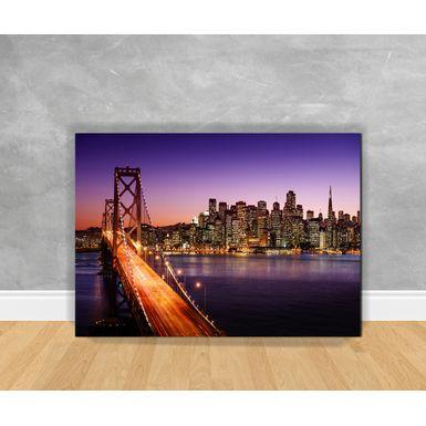 Tela-em-Canvas-Cidade---Ponte-De-Sao-Francisco