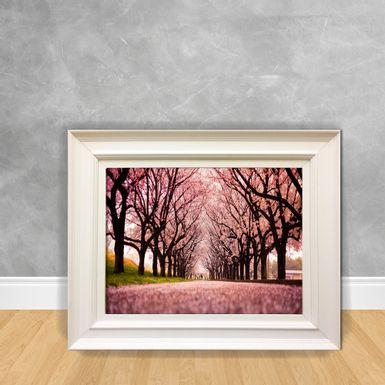 Quadro-Decorativo-Floresta-Rosa