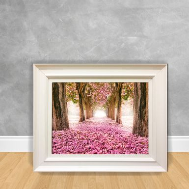 Quadro-Decorativo-Jardim-Rosa
