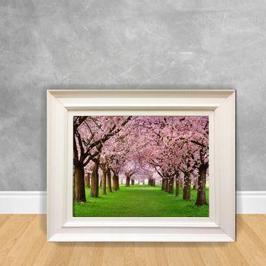 Quadro-Decorativo-Arvores-Rosas