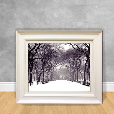 Quadro-Decorativo-Canvas-Parque-Nevando