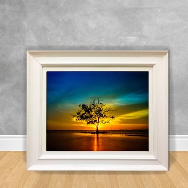 Quadro-Decorativo-Canvas-Arvore-no-Mar