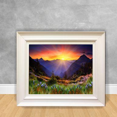 Quadro-Decorativo-Canvas-Sol-na-Montanha