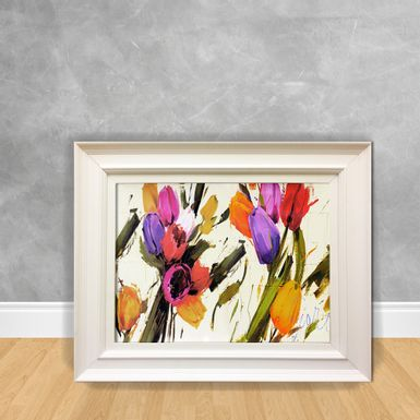 Quadro-Decorativo-Canvas-Tulipas-Abstratas