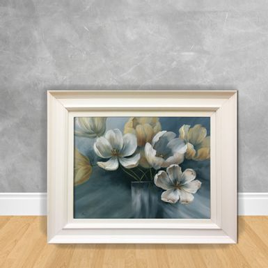 Quadro-Decorativo-Canvas-Flor-Azul