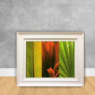 Quadro-Decorativo-Flor-Folhas1