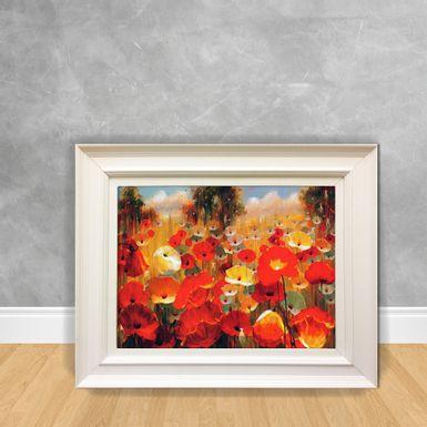 Quadro-Decorativo-Jardim-Vermelho