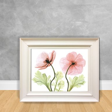 Quadro-Decorativo-Canvas-Flor-RX-Rosa
